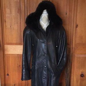 Creations Jez Lambskin Coat